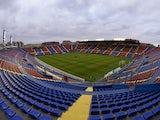 General view of Levante UD Stadium Ciutat de Valencia before the La Liga match between Levante UD and Sevilla FC at Ciutat de Valencia Stadium on August 25, 2013