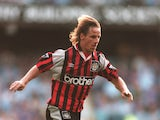 Paul Walsh of Manchester City in action during a premiership match against Coventry City at Highfield Road on August 24, 1995