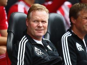 Ronald Koeman: 'Southampton lost belief'