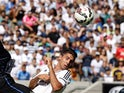 Ruben Sobrino #33 of Real Madrid in the International Champions Cup 2014 at California Memorial Stadium on July 26, 2014