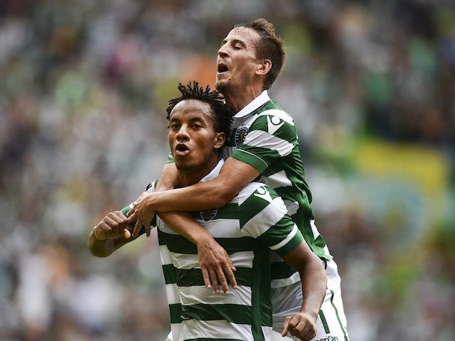 Result: Sporting Lisbon move joint-top with win