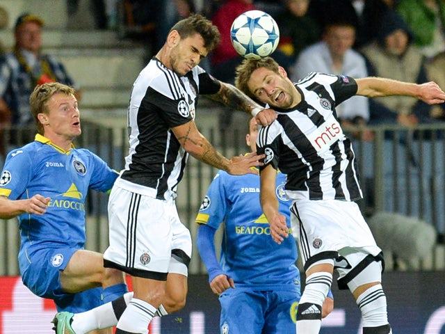 Result: BATE Borisov narrowly edge past Partizan