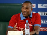 IAAF Ambassador Colin Jackson attends the IAAF Ambassador Programme Press Conference during Day Four of the 14th IAAF World Athletics Championships Moscow 2013 at Luzhniki Stadium on August 13, 2013