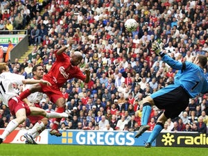 OTD: Diouf marks Anfield debut with a brace