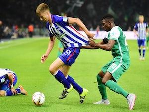 Hertha Berlin held by Werder Bremen