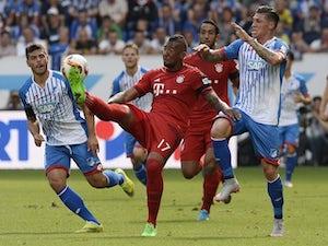 Team News: Jerome Boateng named on Bayern bench