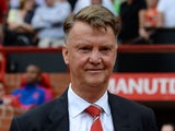 Manchester United's Dutch manager Louis van Gaal smiles ahead of the English Premier League football match between Manchester United and Newcastle United at Old Trafford in Manchester, north west England, on August 22, 2015