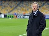 Club Brugge manager Michel Preud'homme on April 23, 2015