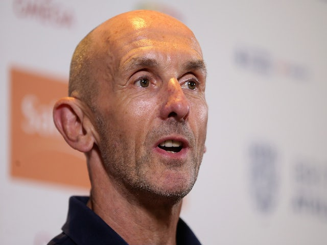 UK Athletics Performance Director Neil Black speaks to the media during a Sainsbury's Birmingham Grand Prix - International Athletes Press Conference at The Hyatt Hotel on June 6, 2015
