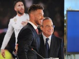 Sergio Ramos announces a new five-year deal with Real Madrid on August 17, 2015