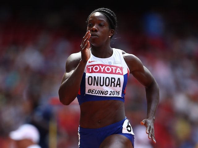 Anyika Onuora in action during the 400m heats at the World Championships on August 24, 2015