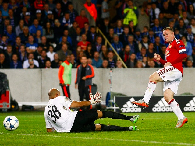 Result: Rooney hat-trick sees United through