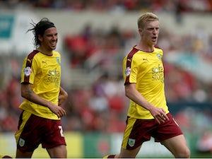 Mee, Keane give Burnley victory