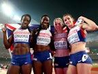 Result: Great Britain's women earn bronze in 4x400m relay final