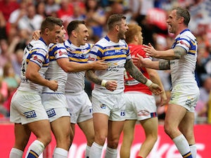 Leeds, Briscoe, smash Hull KR to lift Challenge Cup