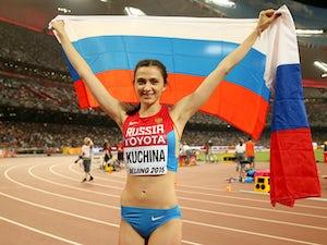 Mariya Kuchina claims high jump gold