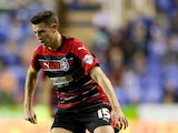 Murray Wallace of Huddersfield in action during the Sky Bet Championship match between Reading and Huddersfield Town at Madejski Stadium on August 19, 2014