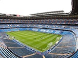 A general view during the La Liga match between Real Madrid and Real Zaragoza at Estadio Santiago Bernabeu on April 30, 2011