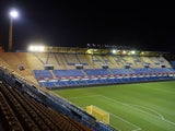 General view of Villarreal CF Estadio El Madrigal before the La Liga match between Villarreal CF and Real Valladolid CF at El Madrigal Stadium on August 24, 2013