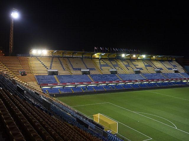 General view of Villarreal CF Estadio El Madrigal before the La Liga match between Villarreal CF and Real Valladolid CF at El Madrigal Stadium on August 24, 2013