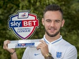 League One's August Player of the Month, Adam Armstrong of Coventry City