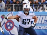 Andy Levitre #67 of the Tennessee Titans plays against the New York Giants at LP Field on December 7, 2014