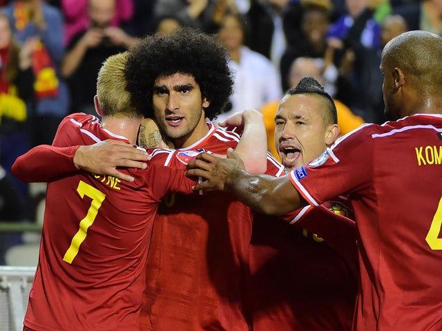 Result: Belgium canter to easy Bosnia win