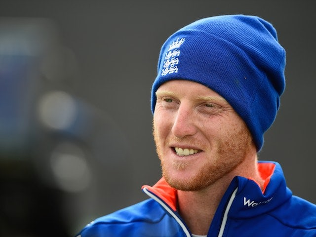 Ben Stokes in action during an England nets session on September 2, 2015