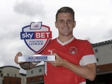 League Two's August Player of the Month, Dean Cox of Leyton Orient