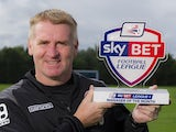 August's League One Manager of the Month, Dean Smith of Walsall