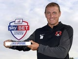 August's League Two Manager of the Month, Ian Hendon of Leyton Orient