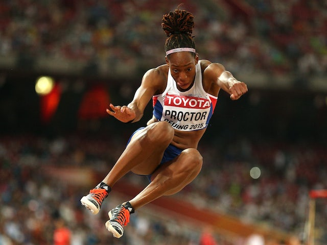Shara Proctor of Great Britain competes in the Women's Long Jump final during day seven of the 15th IAAF World Athletics Championships Beijing 2015 at Beijing National Stadium on August 28, 2015
