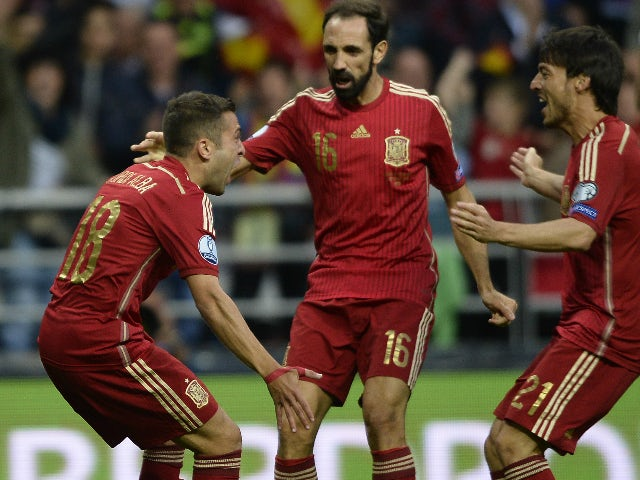 Result: Spain cruise to qualification