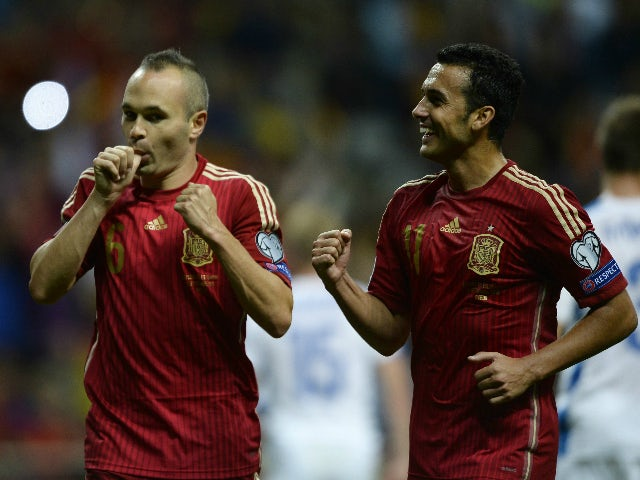 Result: Spain take top spot after Slovakia win