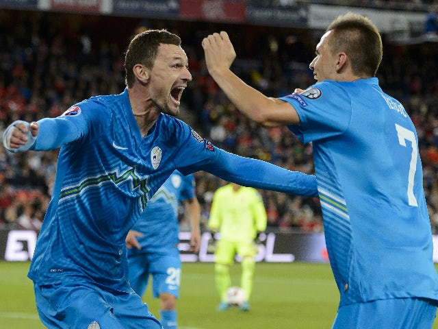 Result: Slovenia battle past San Marino