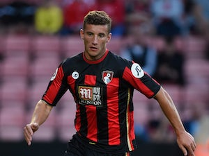 Baily Cargill of Bournemouth in action during a Pre Season Friendly between AFC Bournemouth and Cardiff City at Vitality Stadium on July 31, 2015