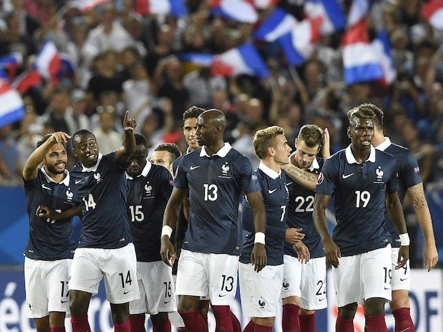 Result: Blaise Matuidi double inspires France