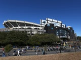 A general view of Bank of America Stadium prior to the NFC Divisional Playoff Game between the San Francisco 49ers and Carolina Panthers on January 12, 2014