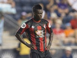 Christian Atsu #20 of AFC Bournemouth plays in the friendly match against the Philadelphia Union on July 14, 2015