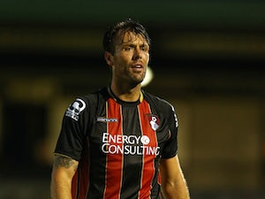 Elliott Ward of AFC Bournemouth during the Pre Season Friendly match between Salisbury City v AFC Bournemouth at the Raymond McEnhill Stadium on July 21, 2015