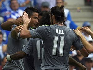 Team News: Ronaldo, Bale start up front for Real
