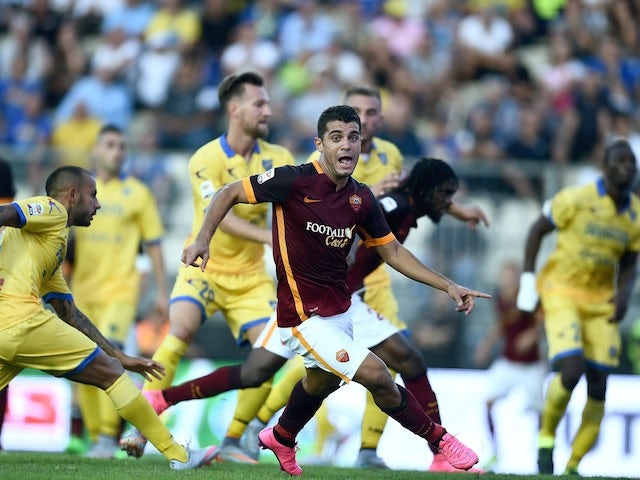 Result: Roma see off Frosinone to stay unbeaten
