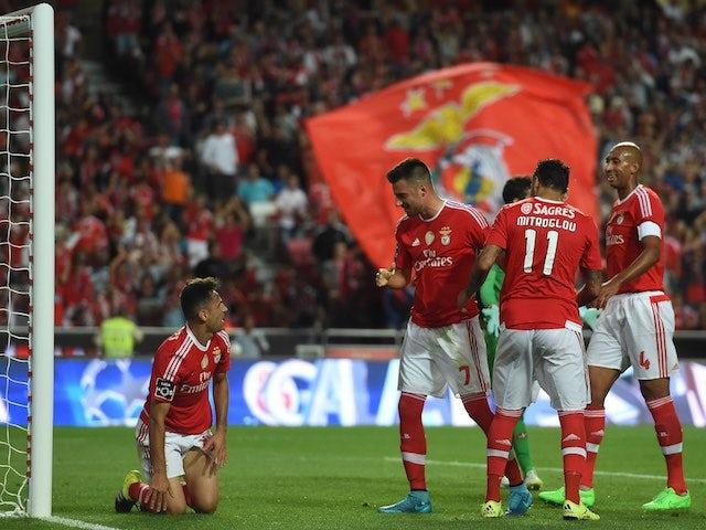 Result: Benfica hit Belenenses for six