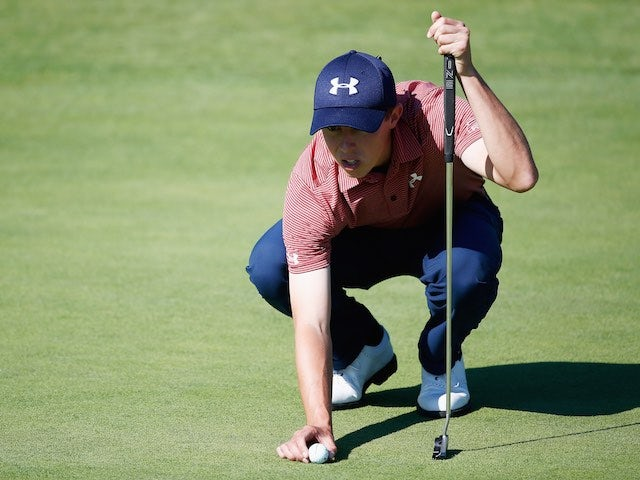 Matthew Fitzpatrick in action during day two of the KLM Open on September 11, 2015