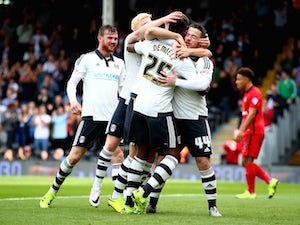 Ross McCormack celebrates scoring for Fulham on September 13, 2015