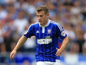 Ryan Fraser of Ipswich during the Sky Bet Championship match between Ipswich Town and Brighton and Hove Albion at Portman Road stadium on August 29, 2015