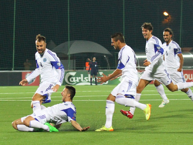 Result: San Marino net first away goal in 14 years