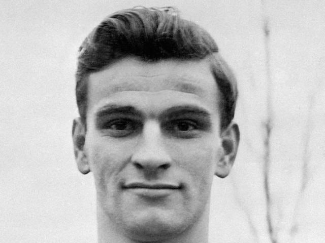 Portrait taken 27 October 1956 of forward Sandor Kocsis who played for Hungary's national soccer team. Kocsis and his teammates reached the World Cup final losing to Germany (2-3) 04 July 1954 in Bern (Switzerland). Kocsis finished the tournment with a re