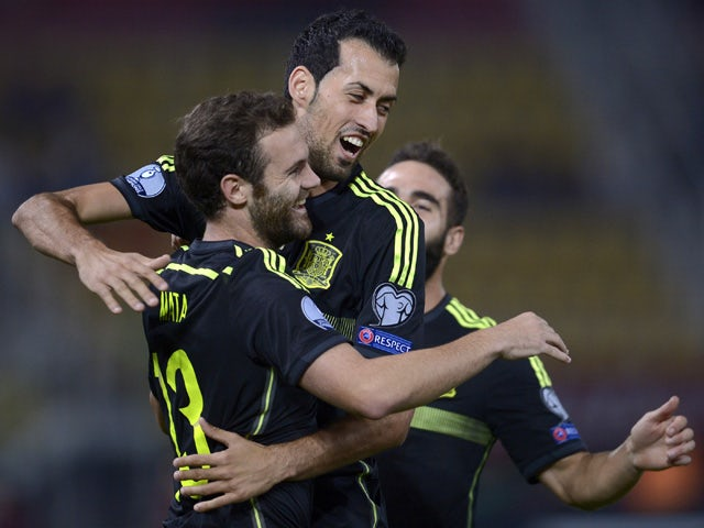 Result: Spain earn narrow win in Macedonia
