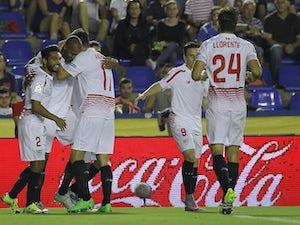 71db365d880 Steven N'Zonzi celebrates scoring for Sevilla against Levante on September  11, 2015